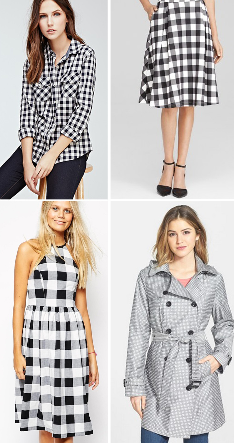 Gingham Style Spring Fashion