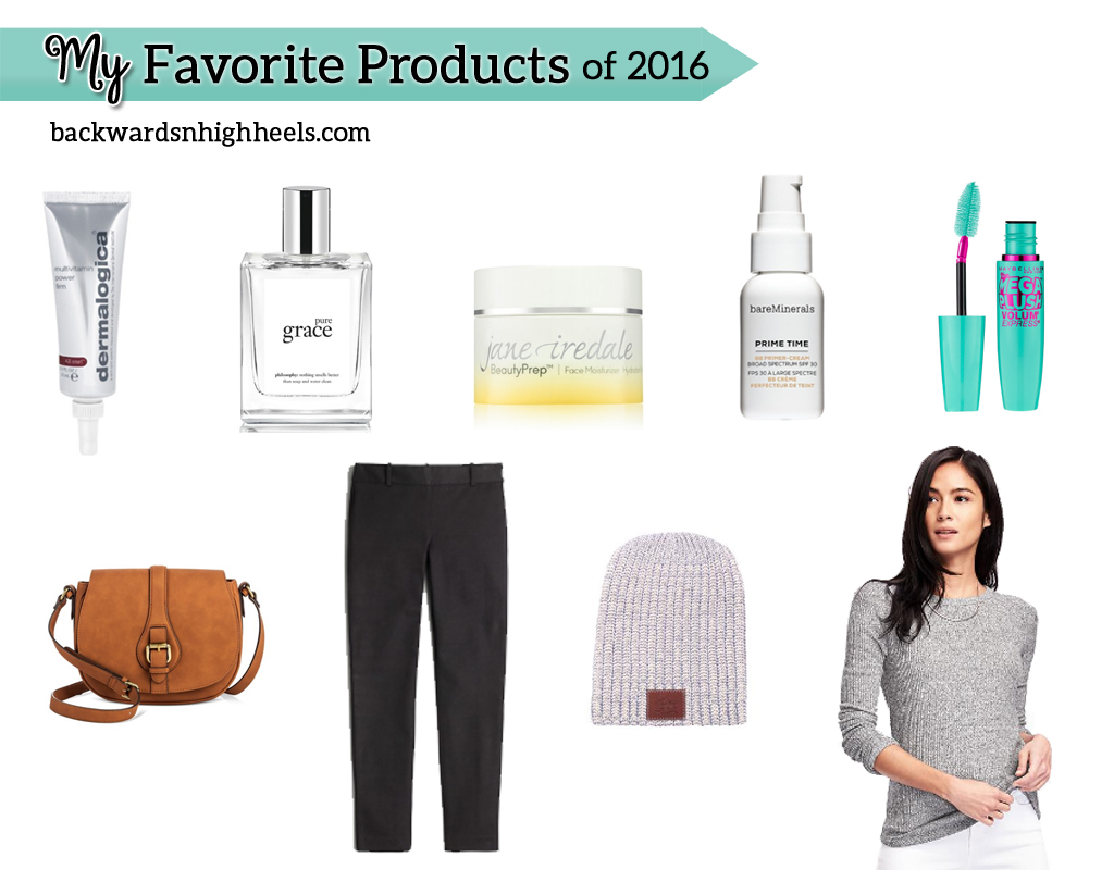 Favorite Products of 2016