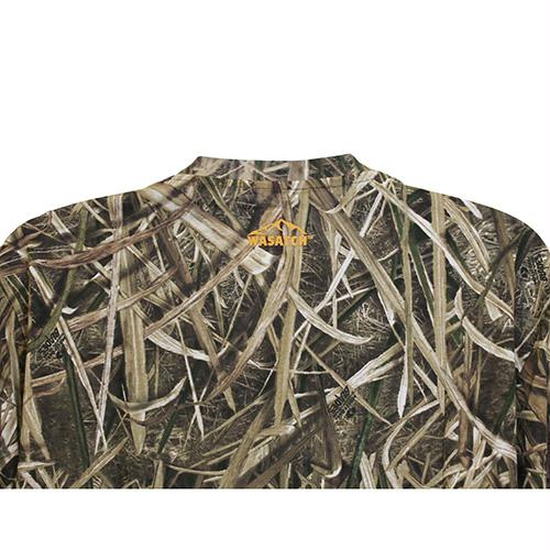 9b6bf2ab62bc5 Browning Wasatch-CB Long Sleeve T-Shirt Mossy Oak Shadow Grass Blades ...