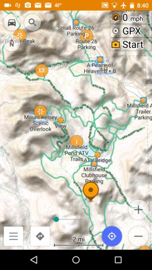 Contoocook Nh Snowmobile Trail Map