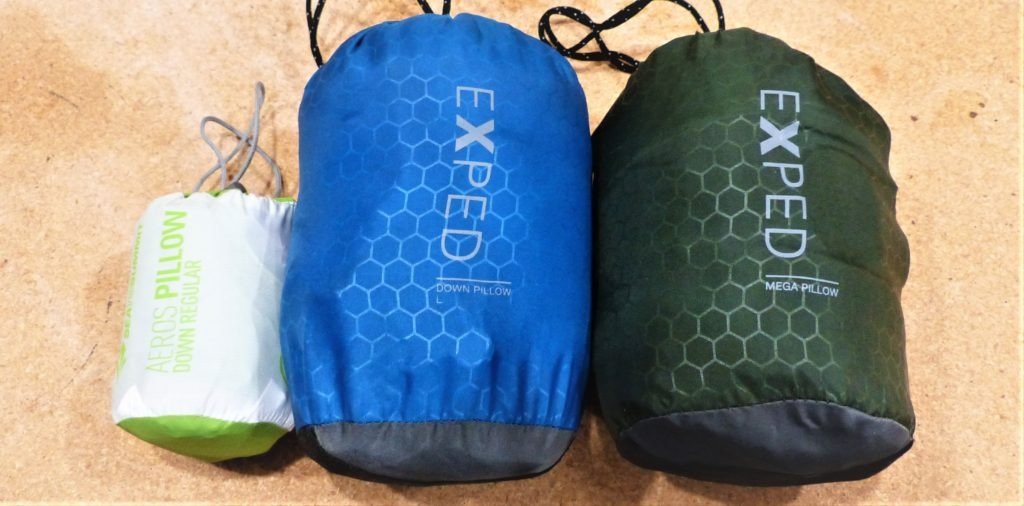 best backpacking pillow for side