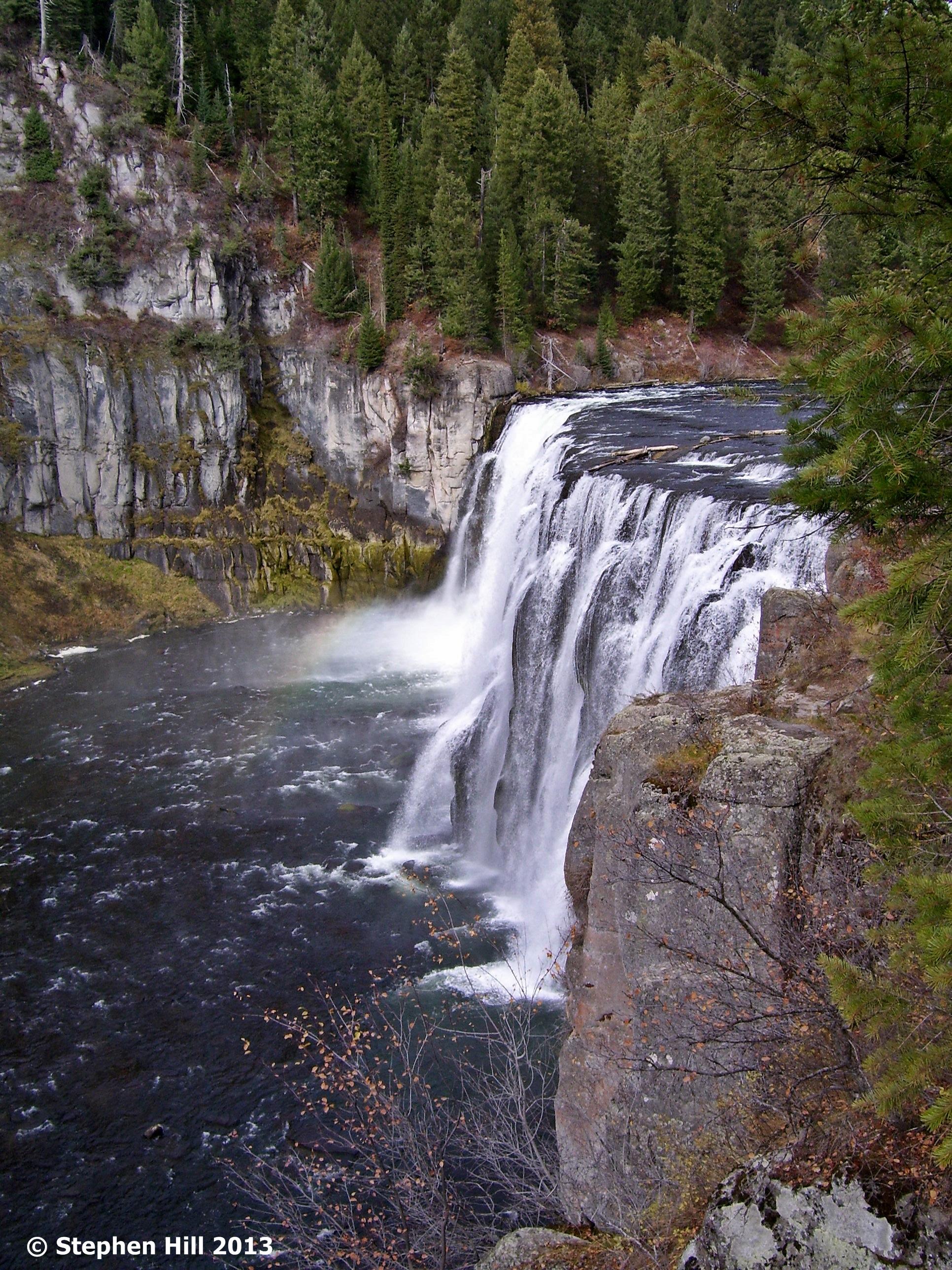 Idahos Mesa Falls  backwoodtrailscom Camping and Hiking Hub