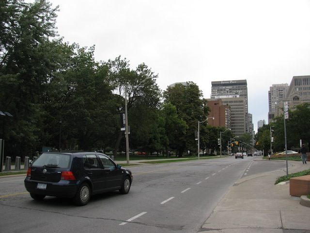 University of Toronto. I wanted to walk more but my feet were dying, and the campus is huge!