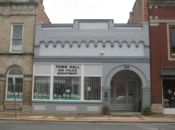 Fremont's small town hall.