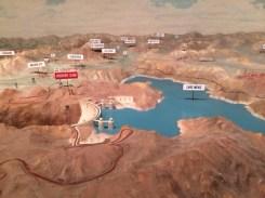 Model of Hoover Dam