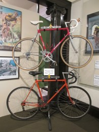 Bicycle exhibit at the History Center of San Luis Obispo