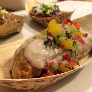 Shrimp tamale