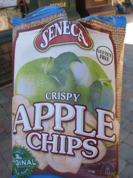 Tasty apple chips