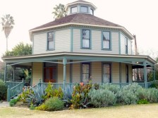 Longfellow-Hastings Octagon House - an eight-sided house that offers more light and better air circulation