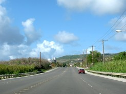 Saipan roads.