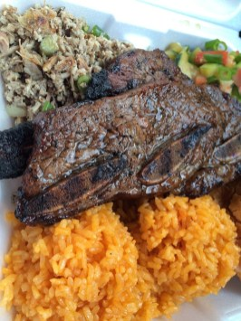 BBQ short ribs plate