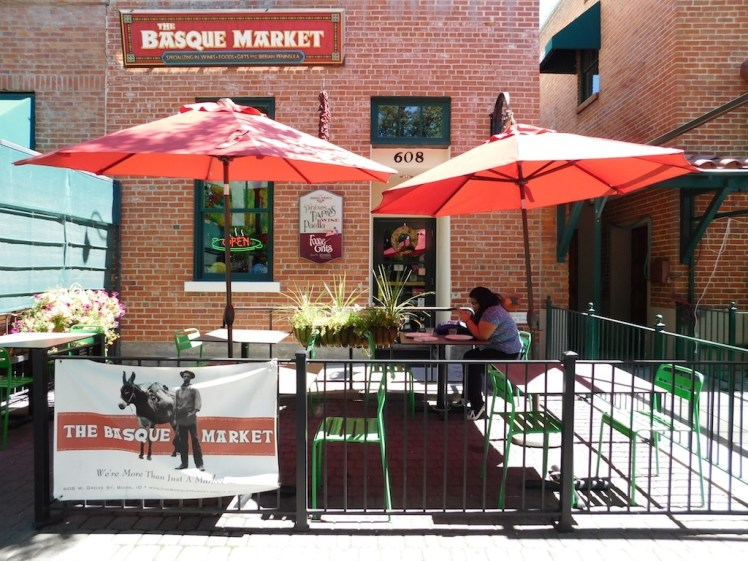 Enjoy Delicious Paella On The Patio In Downtown Boise S