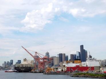 Argosy Cruise harbor tour, Seattle