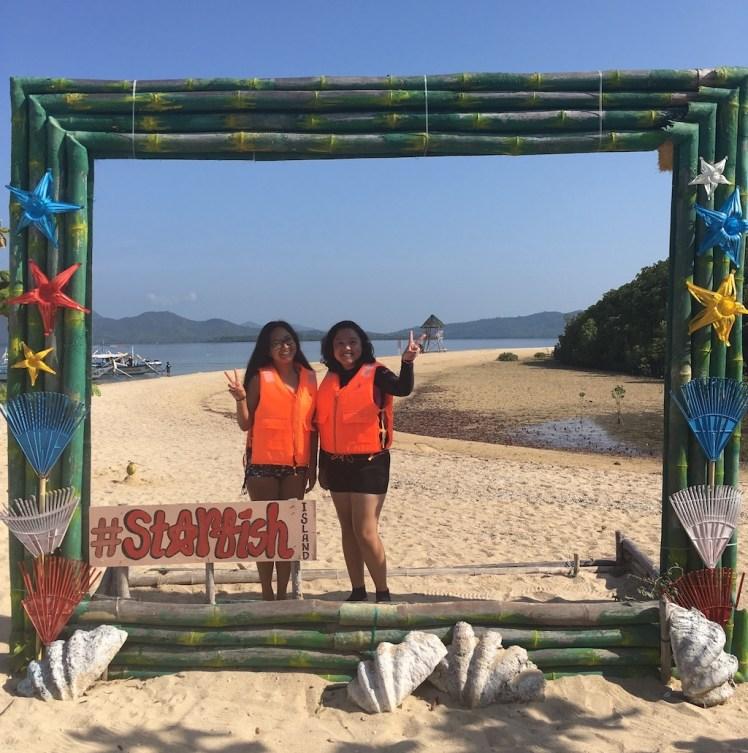 Starfish Island, Honda Bay Island Hopping Tour, Puerto Princesa, Palawan