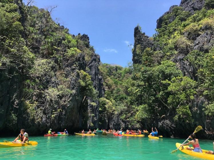 El Nido Island Hopping Tour A, Small Lagoon, Palawan