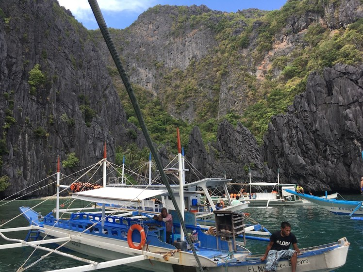 El Nido Island Hopping Tour A, Secret Lagoon, Palawan