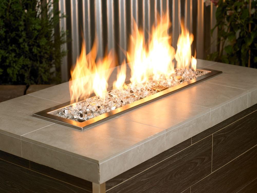 Fire Pit Glass Reflective Starfire 12