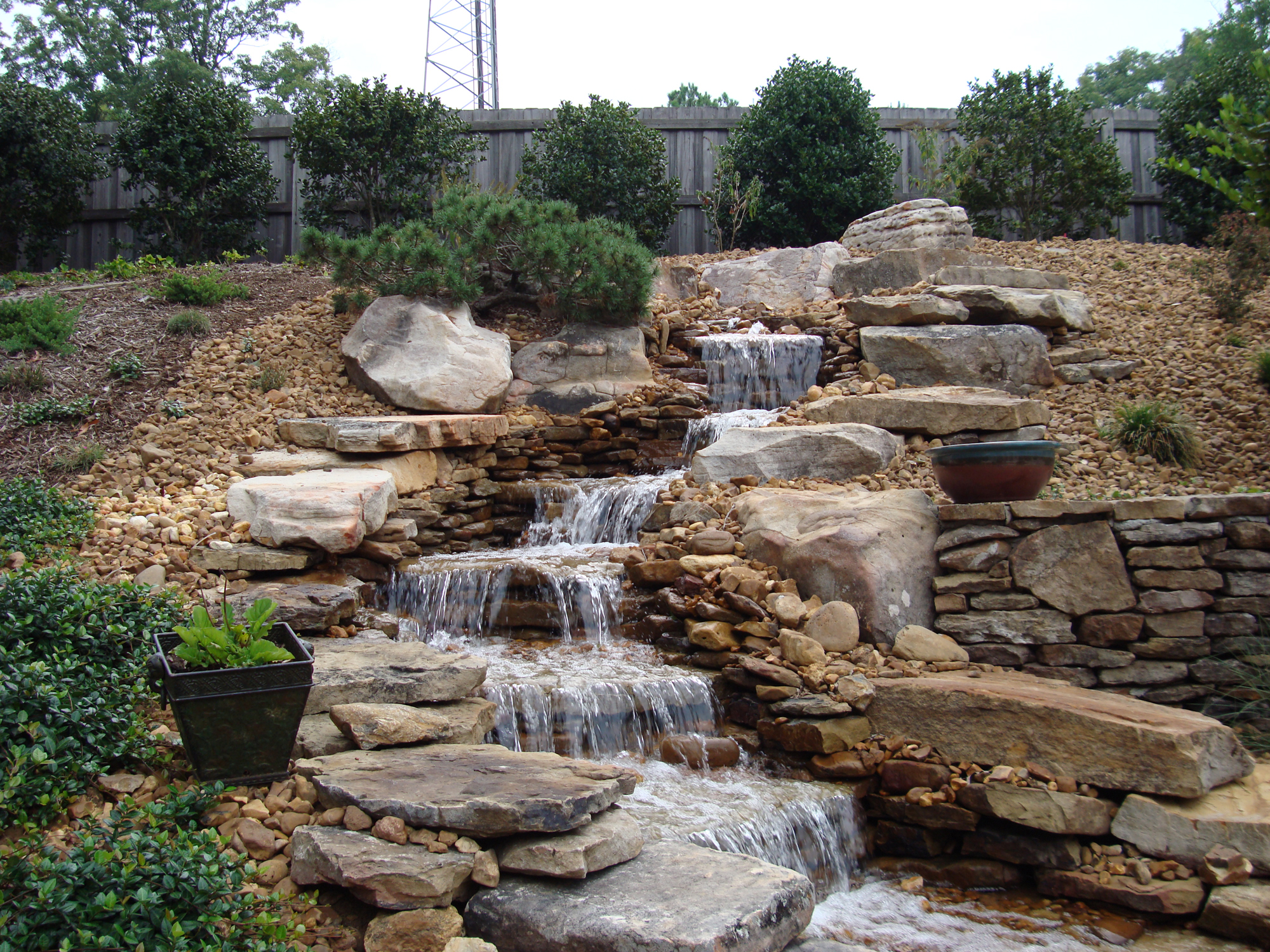 Pondless Waterfalls A Beautiful Alternative to Ponds  Backyard Blessings