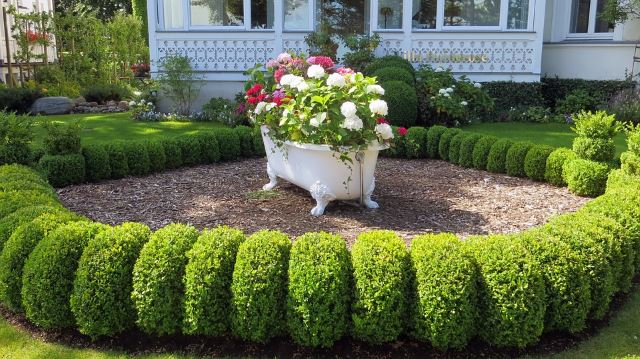 40 Awesome And Cheap Landscaping Ideas: #27 Is Too Easy