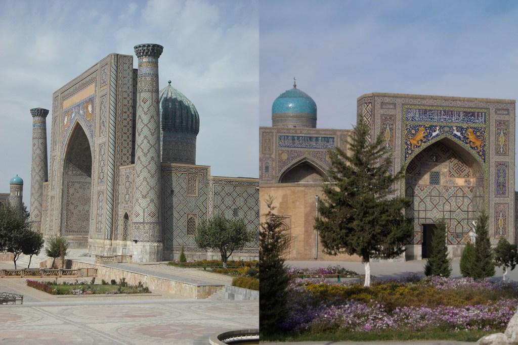 Registan Square, Samarkand.