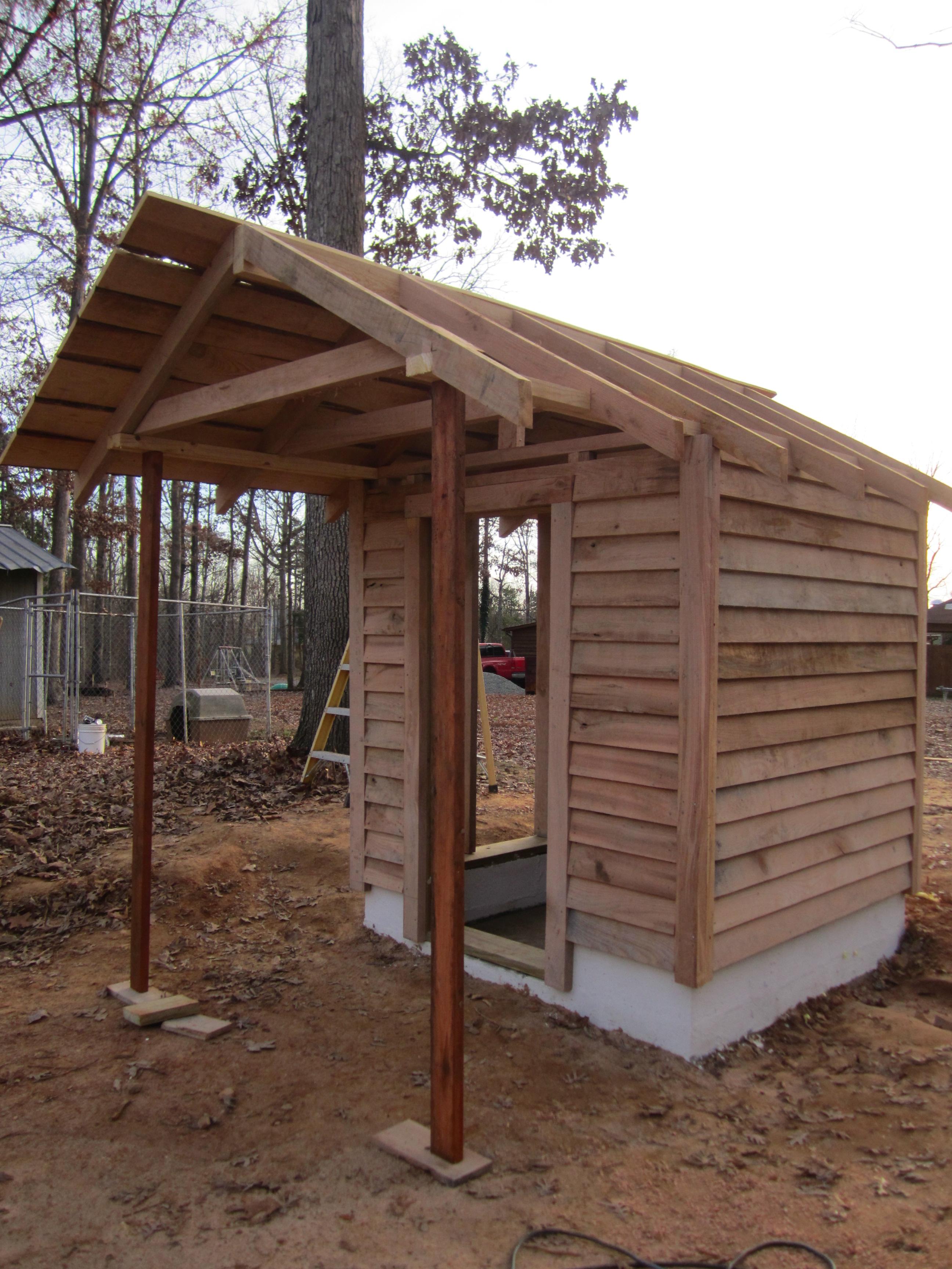 how to build a smokehouse  backyardbuddies