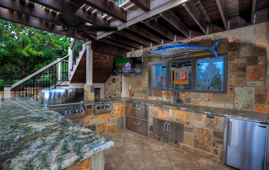 Outdoor Living  Backyard by Design Kansas City