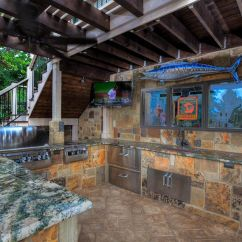 Outdoor Kitchens Cast Iron Kitchen Sinks For Sale Living Backyard By Design Kansas City In A Pool House Kc