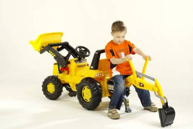 Outdoor Toy - Kettler Caterpillar Backhoe Loader