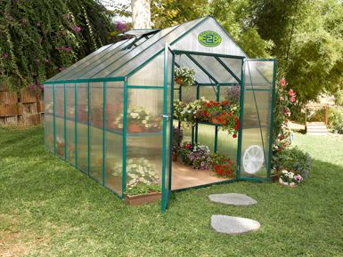 Backyard greenhouses is bigger better outdoor patio ideas for Better homes and gardens greenhouse
