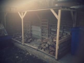 Wood store #1 fills