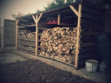 Wood store #1 complete