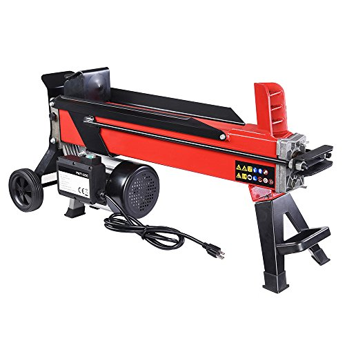Yescom 2000W 7 Ton Electrical Hydraulic Log Splitter Firewood Wood