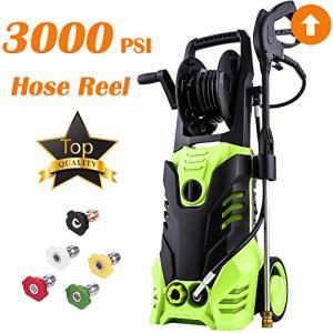 3000 PSI Max Power Pressure Washer, 1800W Electric Pressure Washer