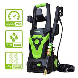 PowRyte Elite 3000 PSI 1.80 GPM Electric Pressure Washer