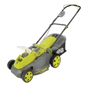 Sun Joe Cordless Lawn Mower | 16 inch | 40V | Brushless Motor Sun Joe iON16LM Cordless Lawn Mower | 16 inch | 40V | Brushless Motor.