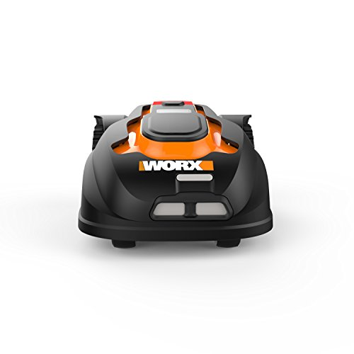 WORX Landroid Pre-Programmed Robotic Lawn Mower WORX WG794 Landroid Pre-Programmed Robotic Lawn Mower with Rain Sensor and Safety Shut-Off.