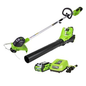 GreenWorks 40V Cordless String Trimmer and Blower Combo Pack
