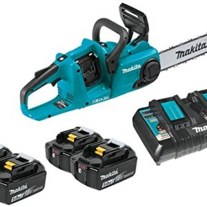 "Makita (36V) LXT Lithium-Ion Brushless Cordless 14"" Chain Saw Kit"