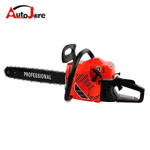 "AUTOJARE Gas Chainsaw, 20"" Bar, 2 Cycle, 52cc, 2 Stroke"