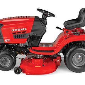 Craftsman 18.5 HP Briggs & Stratton 46-Inch Gas Powered Riding Lawn Mower Craftsman T135 18.5 HP Briggs & Stratton 46-Inch Gas Powered Riding Lawn Mower.