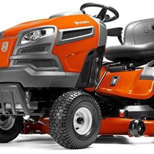Husqvarna 48 in. 24 HP Briggs & Stratton Hydrostatic Riding Mower Husqvarna YTH24V48 48 in. 24 HP Briggs & Stratton Hydrostatic Riding Mower.