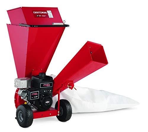 Craftsman Gas Powered 3-inch Wood Chipper Shredder