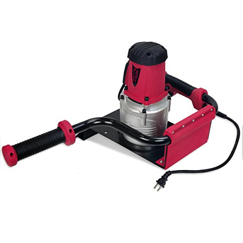 """XtremepowerUS 1200W 1.6HP Electric Post Hole Digger Fence Plant This one-man post-hole digger is right for putting in fence posts, decks, planting bushes and shrubs, ice fishing, and extra. It's light-weight and simple to start out. As well as, it's come with 4"""" earth auger bits for simply drilling by means of the hardest soil situations."""