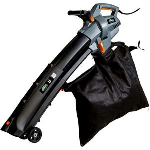 Scotts Outdoor Power Tools 14-Amp 3-in-1 Corded Electric Blower Scotts Outdoor Power Tools BVM23014S 14-Amp 3-in-1 Corded Electric Blower/Vac/Mulcher, Black/Grey.