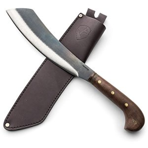 Kings County Tools Short Blade Machete with Hardwood Handle