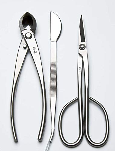 3 PCS Bonsai tool Set JTTK-11 Long Handle Scissors / Branch Cutter