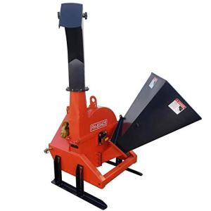 "Farmer Helper Wood Chipper 4""dia. Cat.I 3pt 16HP+ Rated"