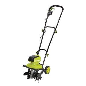 """Sun Joe Snow Joe 40V 4-Amp Brushless Motor 12"""" Cordless Tiller + Cultivator"""