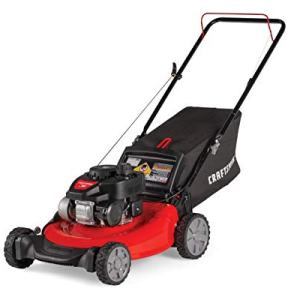 Craftsman 140cc 21-Inch 3-in-1 Gas Powered Push Lawn Mower