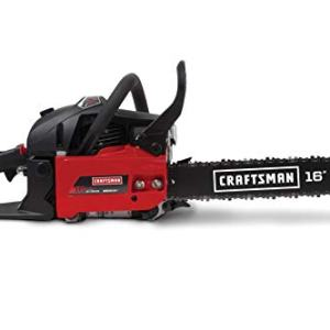 Craftsman 42cc 2-Cycle 16-Inch Gas Powered Carrying Case Chainsaw Craftsman CMXGSAMA426S 42cc 2-Cycle 16-Inch Gas Powered Carrying Case Chainsaw.